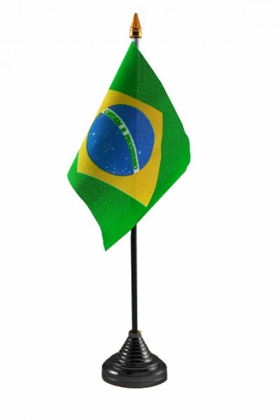 BRAZIL - Table Flag